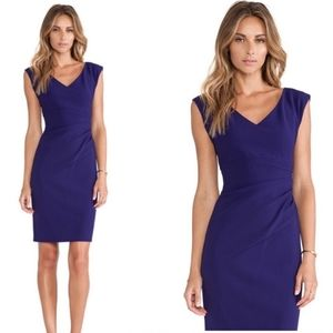 Diane von Furstenberg Bevin dress purple size 8